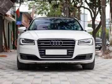 Siêu phẩm Audi A8 L sx 2014 máy 4.0, mới chạy 5.1 vạn km, giá đẹp